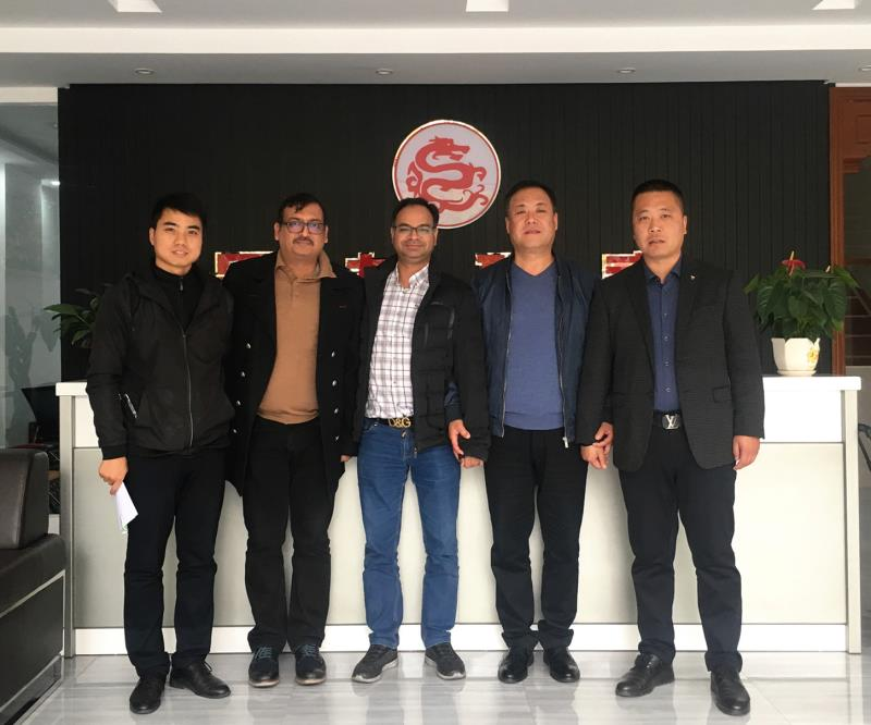 Customers Come to Our Factory to Discuss Cooperation